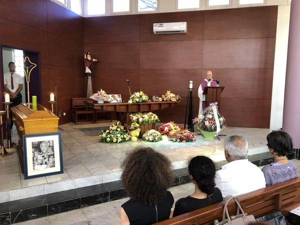 Obsèques de Daniel Honoré