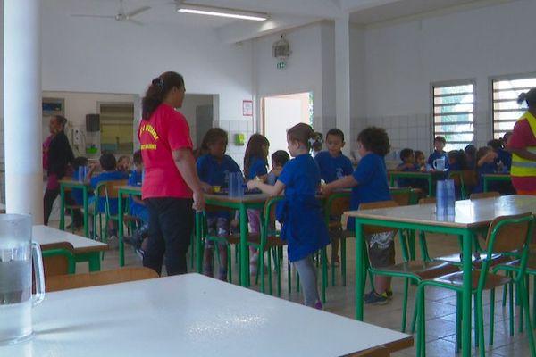 Cantine de l'école Ohlen à Païta