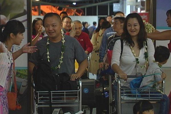 Charter de touristes chinois