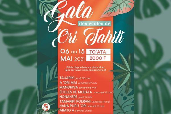 Les écoles de 'ori tahiti font leur gala