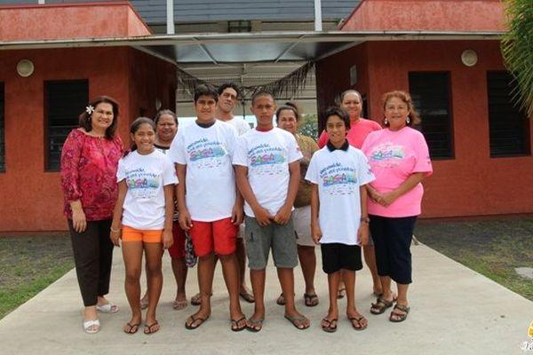 élèves de taunoa à la saga hine 2014
