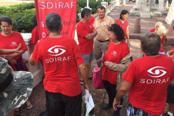 rassemblement SDIRAF