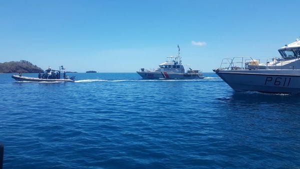 Gardes côtes Baie de Dzaoudzi