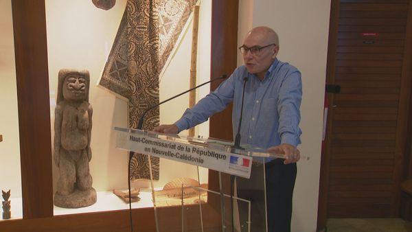 Le haut-commissaire Thierry Lataste un mois avant le référendum, 4 octobre 2018.