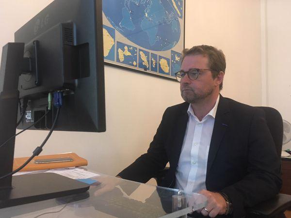 Nicolas Mazières - directeur de cabinet de Jean-Marc Mormeck