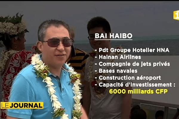 Le géant chinois du tourisme HNA en visite à Tahiti