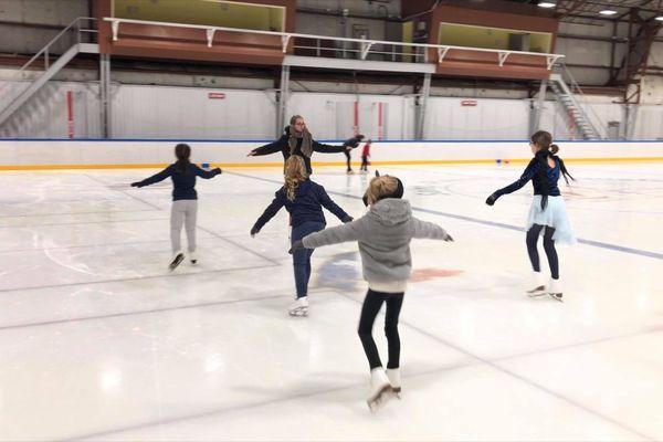 debutantes patinage artistique