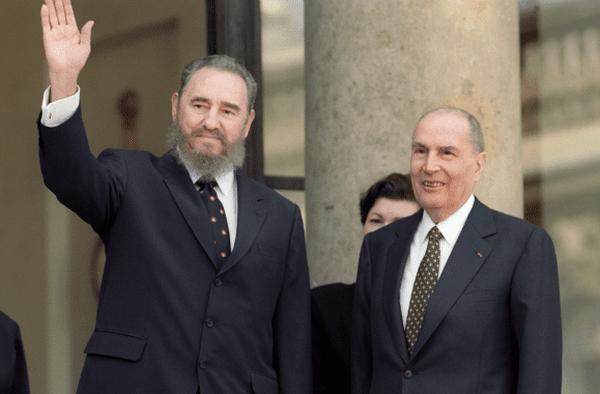 Mai 1995 : premier voyage officiel de Fidel Castro en France.