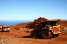 Site minier de la SLN à Tiébaghi en Nouvelle-Calédonie.