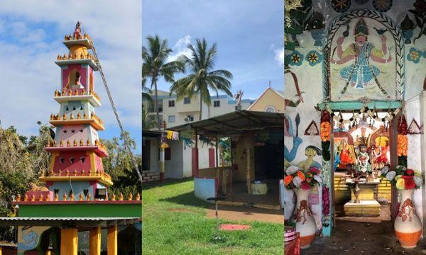 Les temples tamouls de Saint-Pierre et Saint-Louis