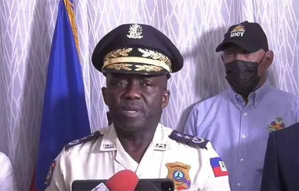 Léon Charles directeur de la Police nationale d'Haïti