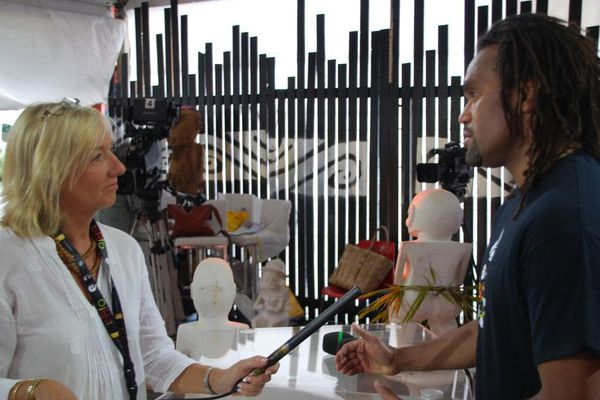 Interview Christian Karembeu en exclusivité sur le site web de Polynésie 1ère