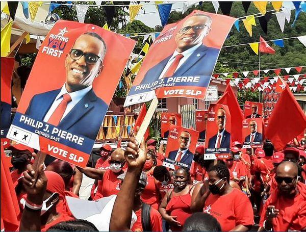 Elections Sainte Lucie Philip J. Pierre