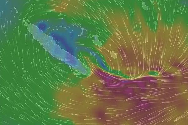 Cyclone Donna 10 mai 9 h 30