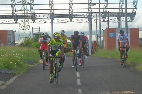 équipe de Guadeloupe de cyclisme à Cuba