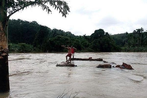 Inondation au Kerala en Inde 2018