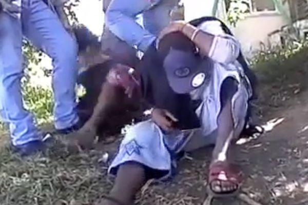 Vidéo violences policières BAC Nouméa juillet 2017