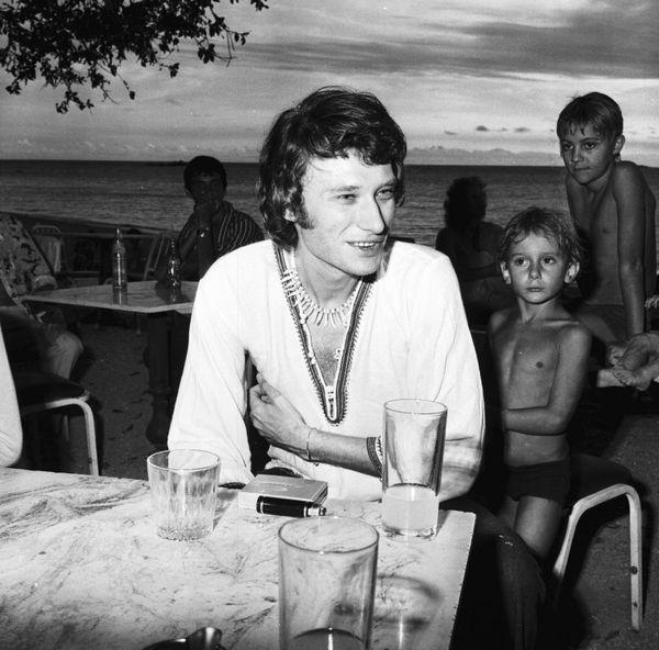 Johnny Hallyday Nouméa 1972