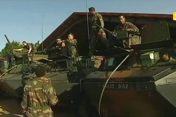 Soldats ultra marins au Mali