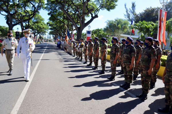 défilé 14 juillet Papeete
