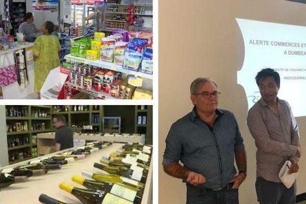 Mosaïque «Alerte commerces et entreprises» à Dumbéa