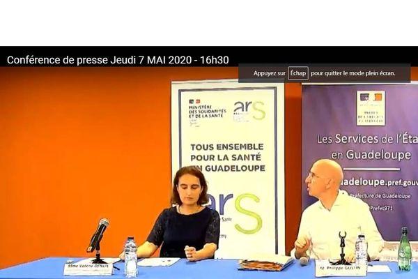 conférence de presse prefet ars recteur