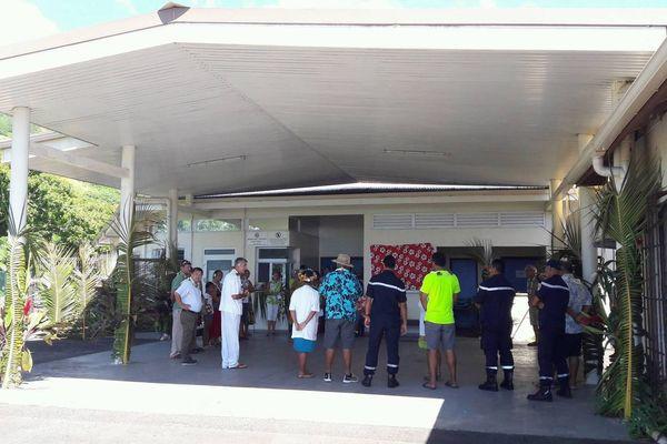 """Santé : un """" accueil d'urgence """" inauguré à l'hôpital de Moorea"""