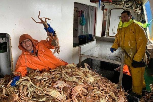 pêche aux crabes des neiges