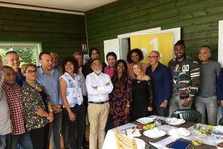 Conférence de presse de Réunion La1ère.