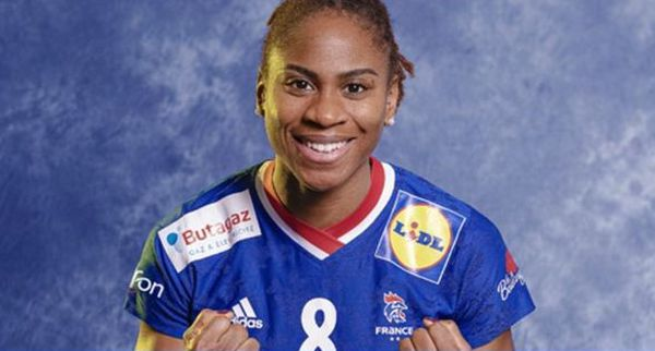 Coralie Lassource capitaine équipe de France handball