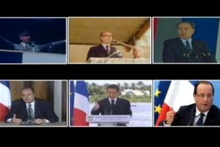 Les présidentd de la 5 eme république : grandes tendances de la vie politique française