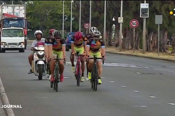 Cyclisme : derniers entraînements avant le tour de Tahiti