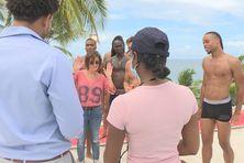 Scène de la série Tropiques Criminels en Martinique.