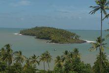 Une vue de l'île du Diable