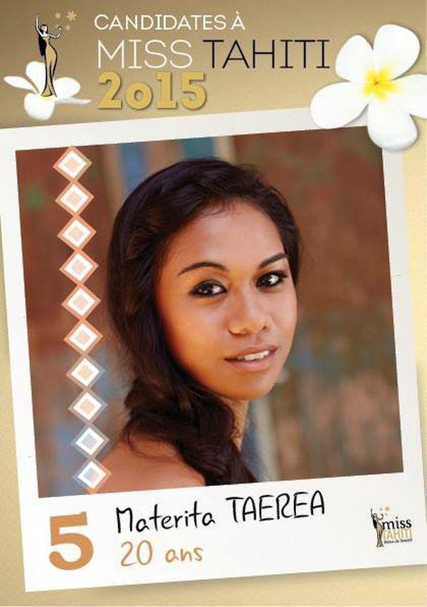 Materita TAEREA, candidate n°5