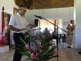 Jean-Francis Treffel, Préfet de Wallis et Futuna a lancé les Assises de l'Outre-Mer à Wallis et Futuna