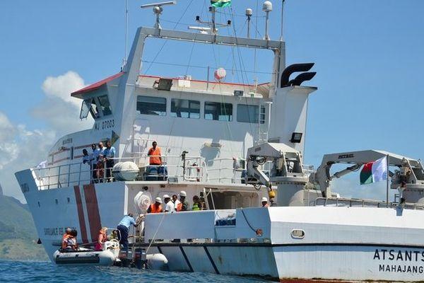 Le Patrouilleur Atsantsa (navire de surveillance maritime)