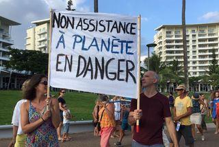 Marche pour le climat à Nouméa, 17 mars 2019