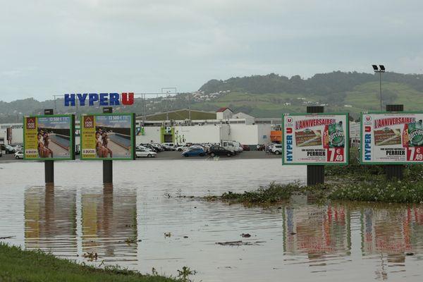 Inondations au Lamentin