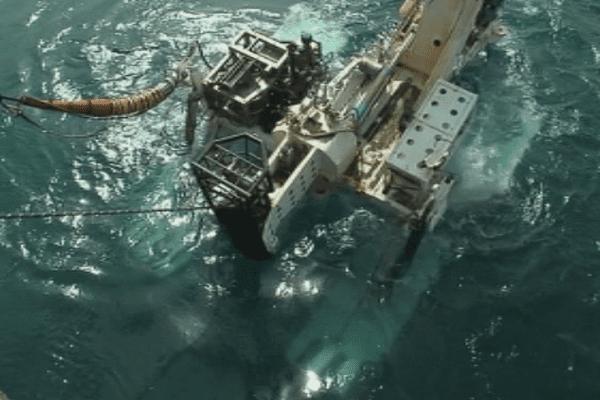 Mise en place du cable Tui-Samoa