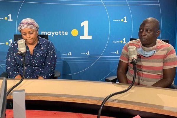 Betty Mukamba et Emmanuel Kabuga dans Zakweli