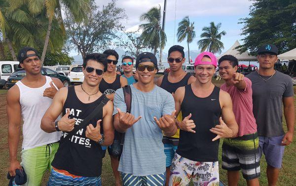 Mister tahiti 2016 au marathon Polynésie 1ère vaa