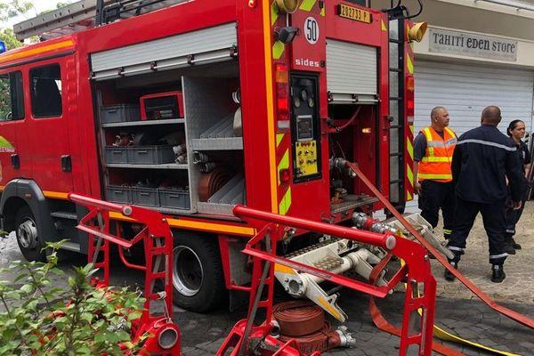 Exercice incendie Papeete
