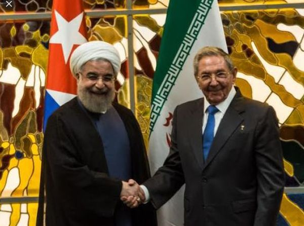 Hassan Rouhani /Raul Castro