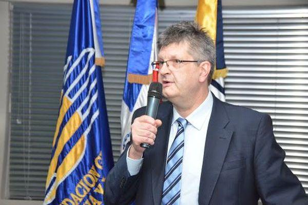 Gilles Genre Grandpierre directeur de l'IEDOM