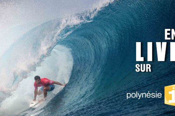 Billabong Pro Tahiti en direct sur Polynésie 1ère