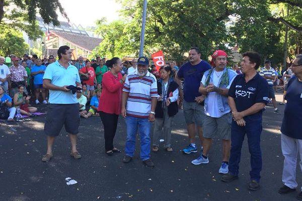 grève générale / rassemblement Tarahoi
