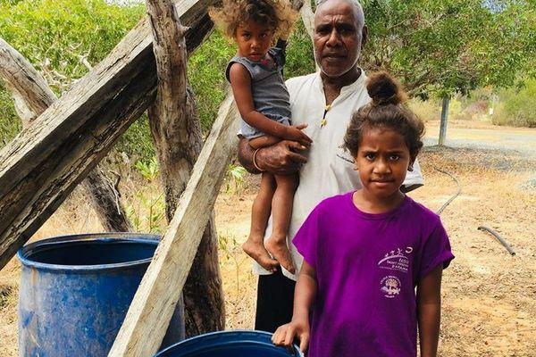 Manque d'eau à Poum, Arama, novembre 2019