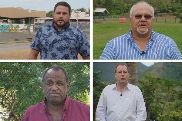 Candidats second tour élections municipales à Bourail