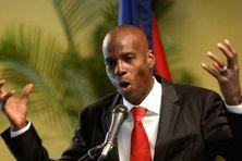 Jovenel Moïse, président d'Haïti.